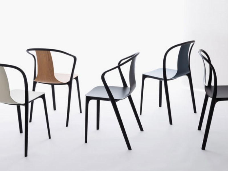 Collection Belleville chair de Vitra